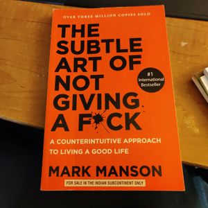 Book The Subtle Art Of Not Giving A F*Ck for Sale in Albuquerque, NM