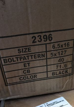 Black rim/wheel for Sale in Orlando, FL