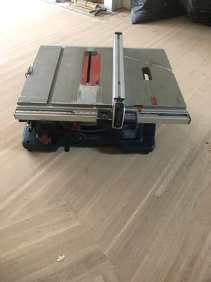 table saw Bosch for Sale in San Lorenzo, CA
