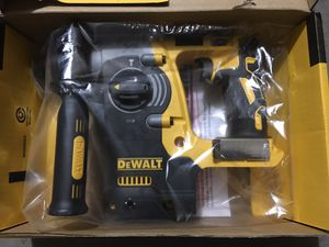 DEWALT 20-Volt MAX Lithium-Ion Cordless 1 in. SDS-Plus Brushless L-Shape Rotary Hammer (Tool-Only) for Sale in Phoenix, AZ