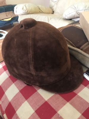 Vintage English equestrian riding helmet... for Sale in Durham, NC