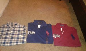 Need gone asap Rl polos never worn Large custom fit for Sale in Los Angeles, CA