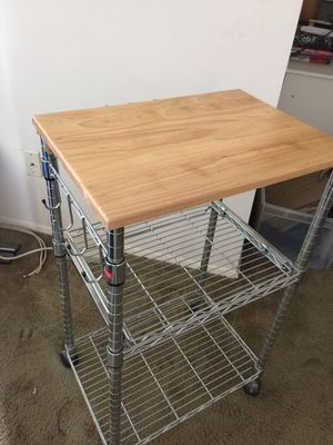 Kitchen cart. Located in College Park, MD off Kenilworth Avenue. for Sale in Silver Spring, MD