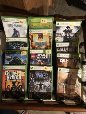 Variety of games including Xbox 360 Nintendo DS and PS3. for Sale in Joliet, IL
