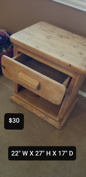 Solid pine table for Sale in Tucson, AZ