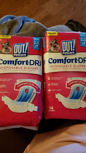 Dog diapers for Sale in Dallas, OR