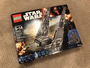 LEGO Star Wars Kylo Ren's Command Shuttle for Sale in Alexandria, VA