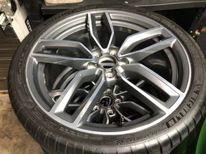 "19"" inch Audi S3 rims with Michelin pilot sport 4s tires for Sale in Schaumburg, IL"