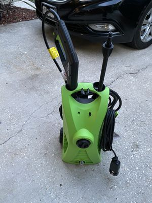 Portland 1750 psi electric pressure washer in excellent working condition for Sale in Palm Harbor, FL