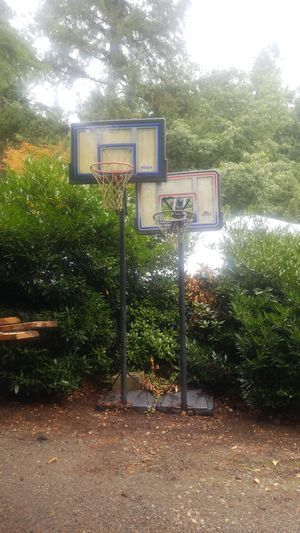 Two basketball hoops for Sale in Spanaway, WA