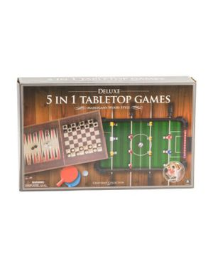 5 in 1 Foosball Pingpong chess checkers Backgammon for Sale in Natick, MA