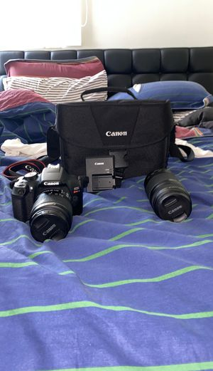 Canon EO5 Rebel T6 - Great condition for Sale in Miami, FL