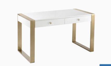 TOV Furniture Karina Writing Desk in White for Sale in Philadelphia,  PA
