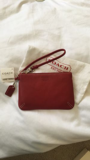 Brand new red leather Coach purse for Sale in Chicago, IL