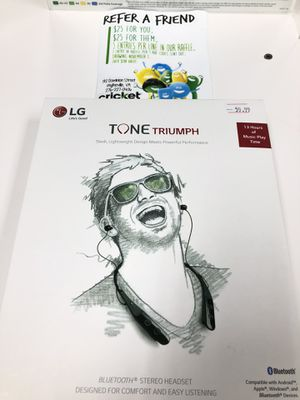LG tone triumph for Sale in Wytheville, VA
