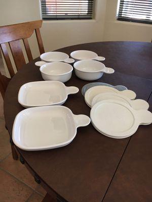 CorningWare Grab-it Bowls & Snack-it Plates for Sale in Tucson, AZ