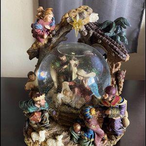 Nativity Scene Crystal Globe for Sale in Compton, CA