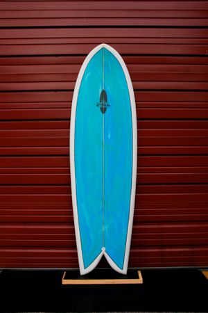 "New 6'0"" FOIL retro fish surfboard for Sale in Zephyrhills, FL"