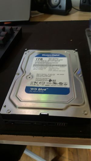 Western digital 1tb hhd for Sale in Wayne, MI