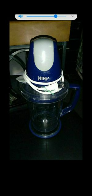 Ninja Food Processor - blender - power shakes with for Sale in Henderson, NV