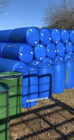 55 gallon sealed barrels for Sale in North Miami, FL