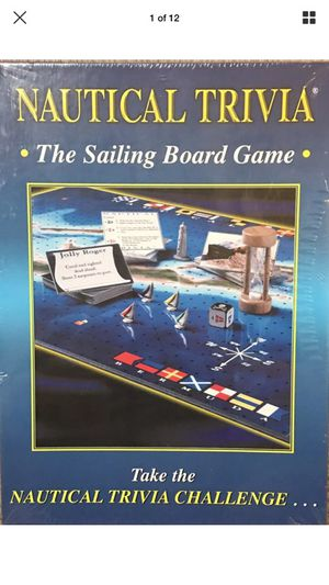 Nautical Trivia The Sailing Board Game for Sale in Elkridge, MD