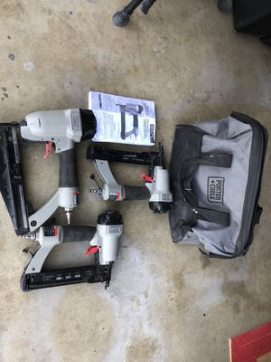Set of nail gun staples sell or trade for Sale in Ontario, CA