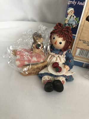 """Raggedy Ann And Andy Figurine 677795 """"Nothing Better Than Sharing A Heart"""" for Sale in NW PRT RCHY, FL"""