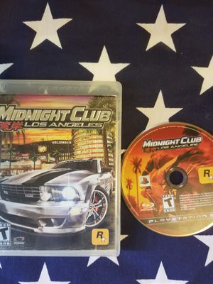 Midnight Club Los Angeles (PS3) for Sale in US