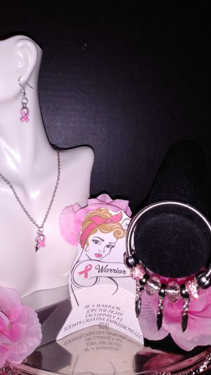 The Pink Warrior & Wings Jewelry Collection! for Sale in Baton Rouge, LA