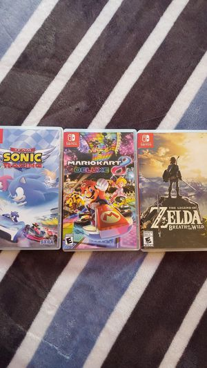 Nintendo switch games for Sale in Monroe, WA