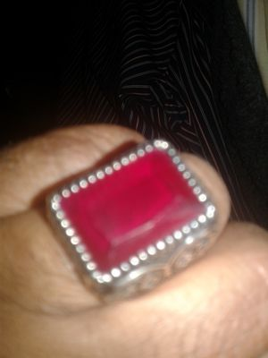 Rare 925 silver ruby ring for Sale in Odenton, MD