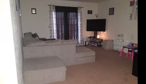 3 PC. Sectional with ottoman for Sale in Nashville, TN
