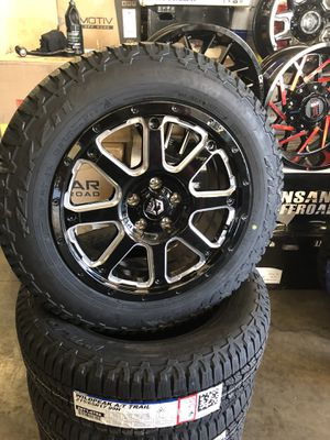 17X8.5 GEAR ALLOY AND FALKEN AT FIT SUBARU AND CHEROKEE for Sale in Las Vegas, NV