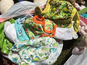 20+ cloth diapers for Sale in Portland, OR