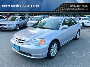 2001 Honda Civic for Sale in Seattle, WA