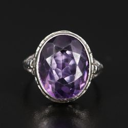 Art Deco 10k Gold Amethyst Ring for Sale in Chesterfield,  MO