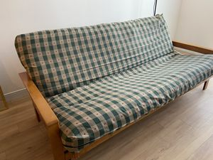 Wooden Futon with cushion! for Sale in Edgemoor, DE