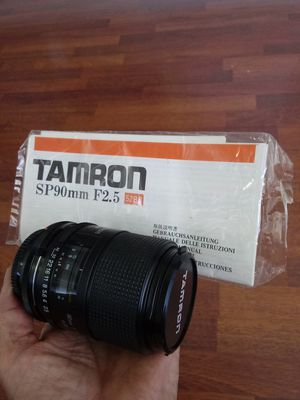Tamron SP 90mm F2.5 w/Manual (Canon F/D) for Sale in Chino, CA