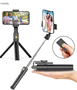 Selfie Stick Tripod with Bluetooth Wireless Remote, 3 in 1 Extendable Selfie Stick with Tripod Stand for iPhone 11/11 Pro/11 Pro Max/X/XR/XS/XS MAX/8 for Sale in Las Vegas, NV