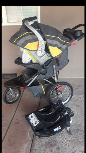 Baby trend expedition stroller and car seat set for $80 for Sale in Stockton, CA