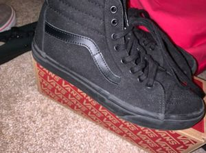 black hightop vans for Sale in Seekonk, MA