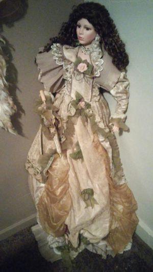 Antique porcelain doll for Sale in Kokomo, IN