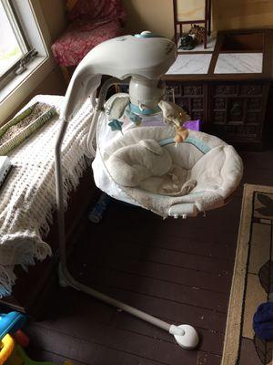 Baby swing My little lamb cradle N swing for Sale in Collingswood, NJ