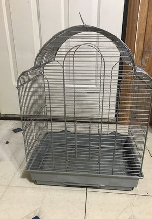 Silver bird cage for Sale in Middle River, MD