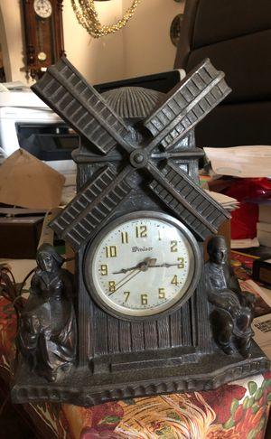 All copper Windsor Dutch windmill Antique collectible clock for Sale in Pompano Beach, FL