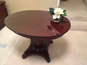 Classic Cherry Oval Table. $175 for Sale in Mercer Island, WA