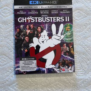 Ghostbusters 2 - UHD 4K Blu-ray for Sale in Pasadena, MD
