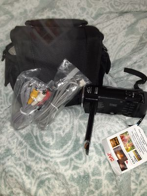 Jvc 40x zoom HD camcorder for Sale in Little Rock, AR
