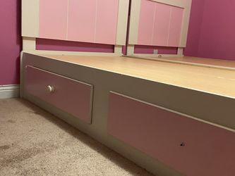 Twin Bed Set Frames And Cabinet for Sale in Columbus,  OH
